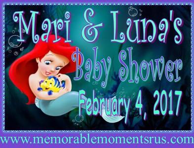 Mari & Luna Baby Shower