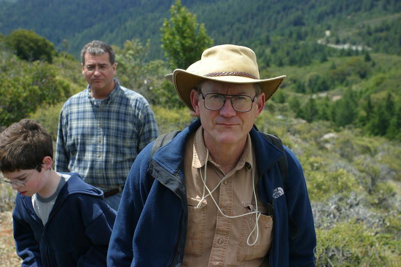 Jack Longino & friends in the field in northern California.