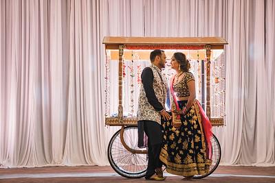 Radhika & Nimesh Garba