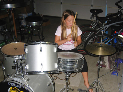 Lily with Drums 2006