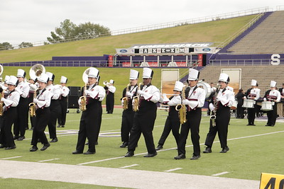 The Roarin' Band from Tigerland shines at UIL Marching Contest