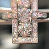2.40ctw Art Deco Old European Cut Diamond Geometric Dinner Ring 28