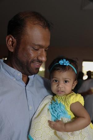 Thiyara's First Birthday