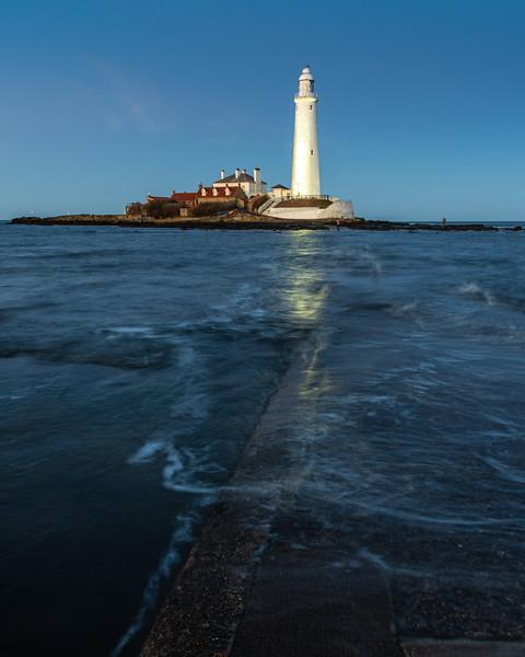 St Mary's Island lighthouse