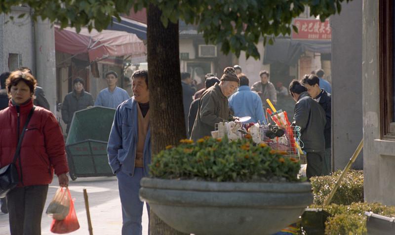 street scene, Shanghai, china, 2005