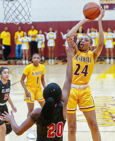 Girls HS Basketball: St. John's vs. Bishop McNamara