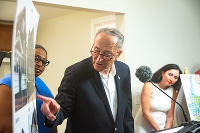 U.S. Senator Schumer Zombie Homes Press Conference