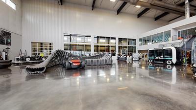 Local Motors Showroom & Olli Build Floor