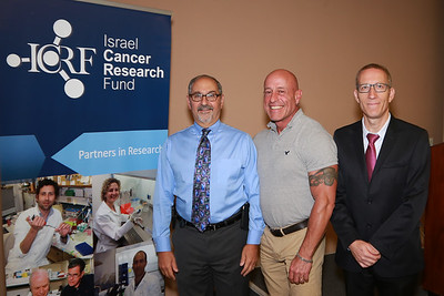 Israel Cancer Research Lunch 4/18/16