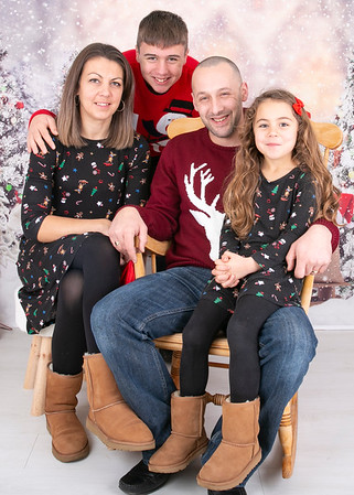Claire & Family