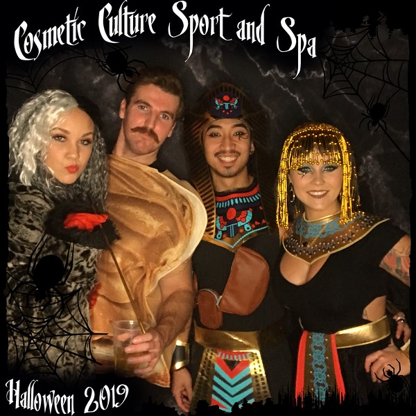 Cosmetic Culture 2019 Halloween Party