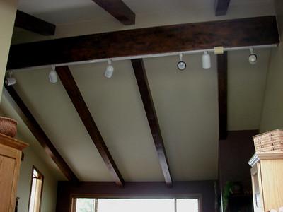 New Ceiling Beams