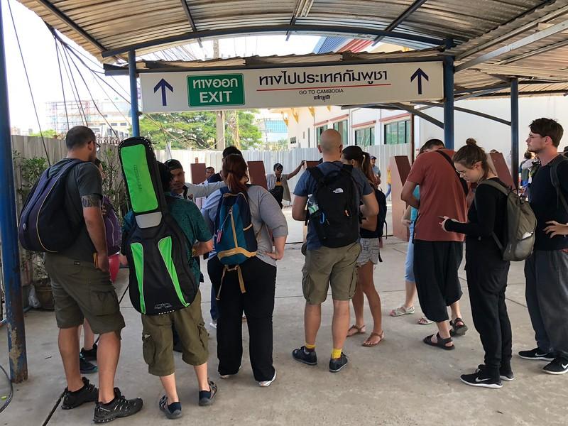 Thailand Cambodian Border