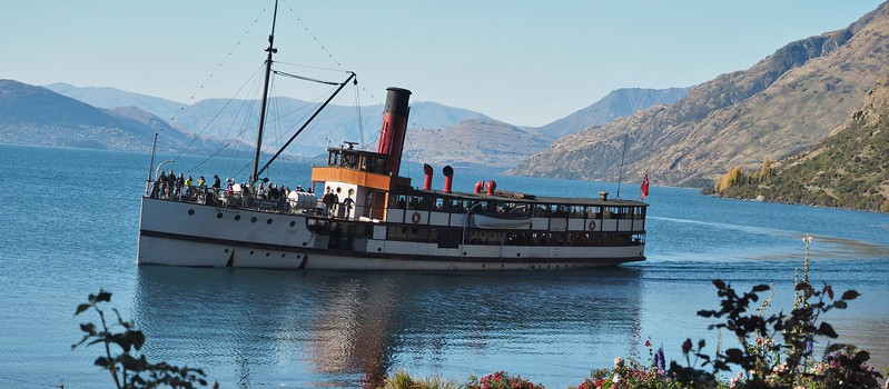 TSS Earnslaw, Lake Wakatipu