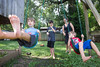 Kristin Schnetzler, Cure of Ars, Leawood — Prays while kids play on swings<br /> <br /> kristinschnetzler@gmail.com