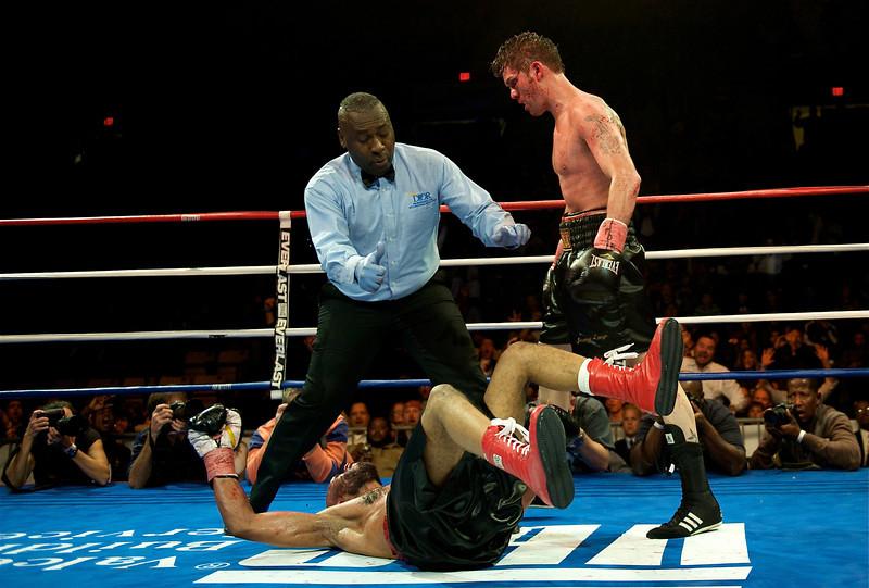 Jimmy Lange.Patriot Center.November 2010. (12th round KO)