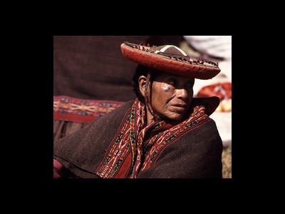 Chinchero, Peru - Sunday Market 1995