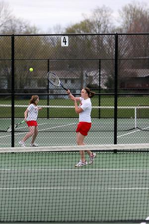 Girls Tennis - 2008-2009 - 4/29/2009 Ludington