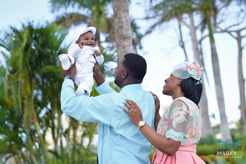 Lisa Baby christening