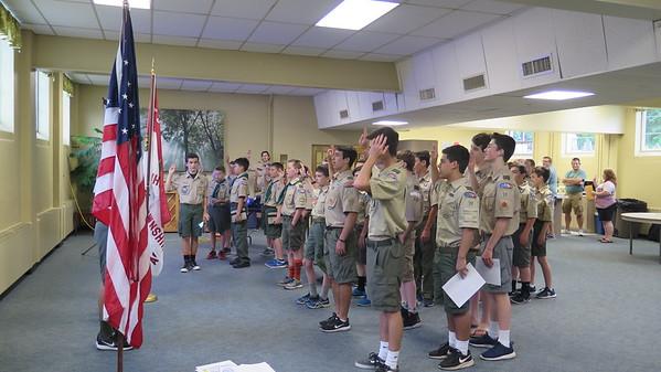 Troop Meeting 16Jun17