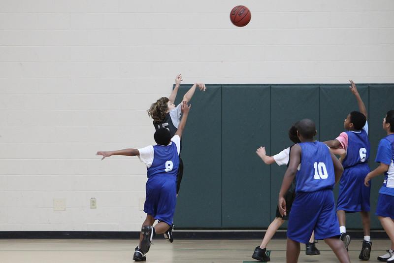 6th Grade Basketball 2-13-2010