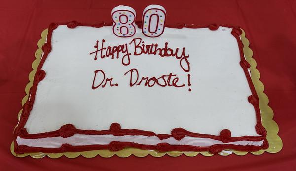 Dr. Droste's Birthday