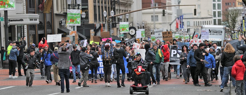 March for our lives - Portland 2018