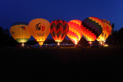 Quechee Balloon Glow