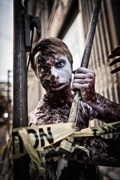 Binghamton Zombie Walk 2012