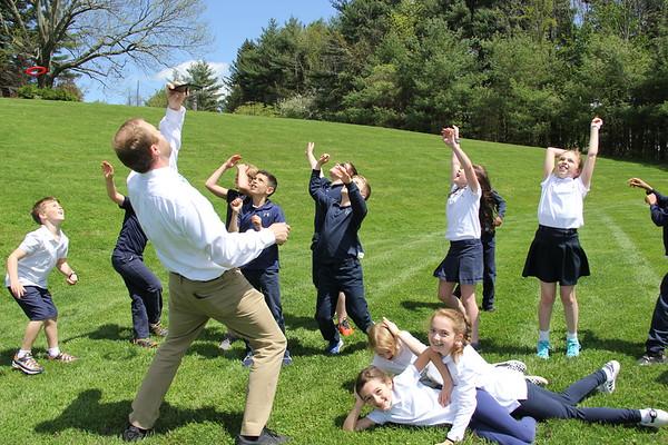 Grade 3: Flight Unit - Frisbee Throw