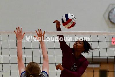 Volleyball: Rock Ridge vs Riverside 10.27.2016 (by Al Shipman)