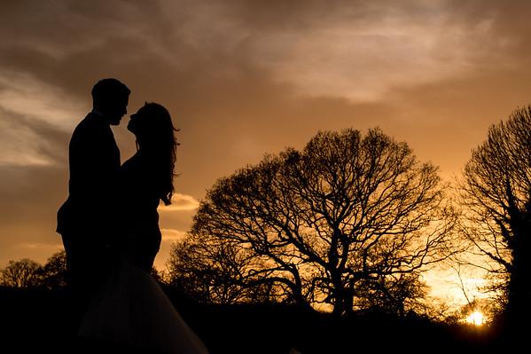 Nik & Sarah Winter Wedding at Dumbleton Hall, The Cotswolds