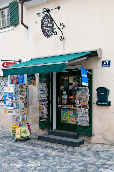 Tobacco shop in Melk, Austria