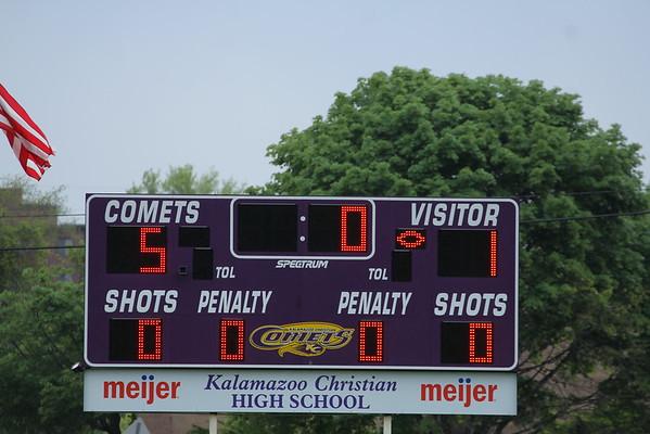 Soccer Girls Districts vs. Hackett - KCHS - 5/20/15