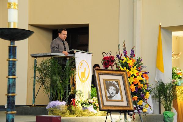 2013-04-04, Glady's Memorial Service