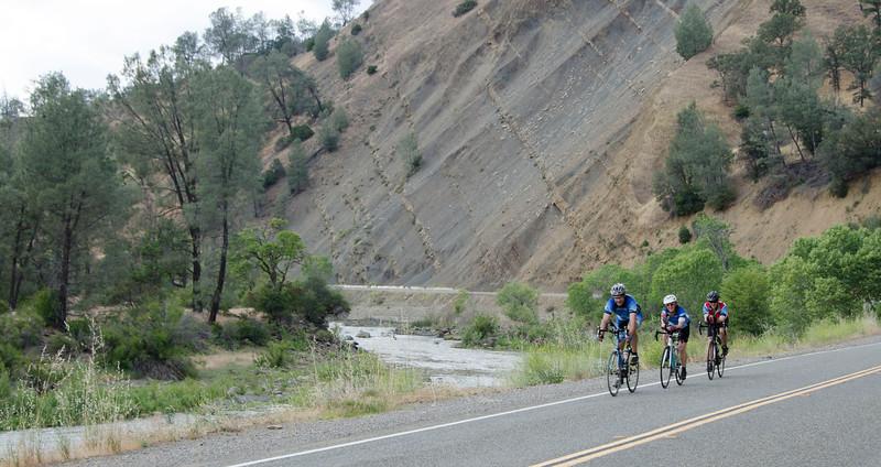 Descending into Cache Creek Canyon