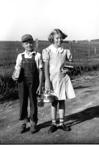 Wayne (Bud) and Joyce Herdrich, Going to School