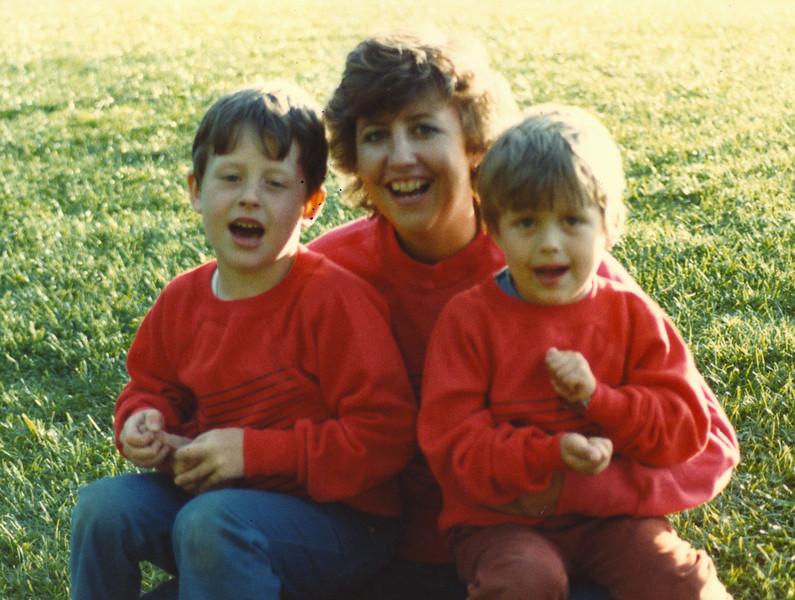 June 1984, Jared, Connie, Travis