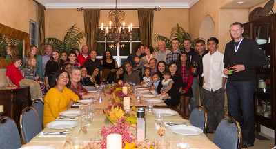 Thanksgiving in Pleasanton - November 2015