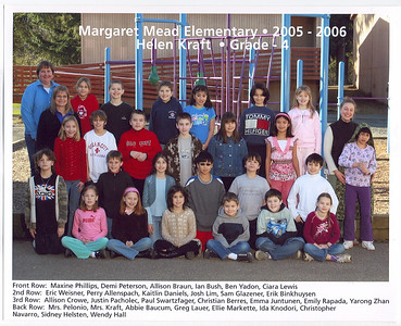 4th Grade Class Photo March 2006