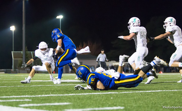 West Linn vs. Newberg September 30, 2016