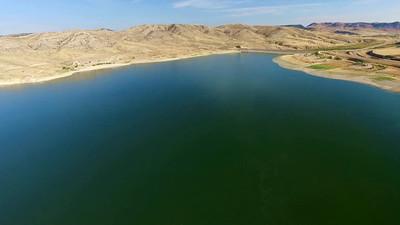 Clark Canyon Dam and Lake