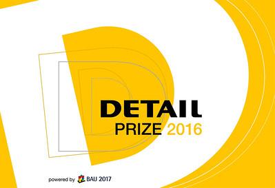 /// DETAIL Preis 2016 | DETAIL Prize 2016