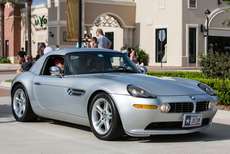 BMW Z8 at Cars and Coffee Houston, Texas Vintage Park