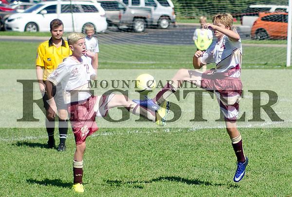 2016 - Junior Aces Soccer vs Robinson