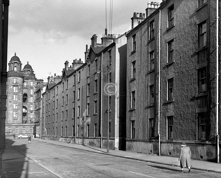 St James Rd, east of Stirling Rd.  July 1973
