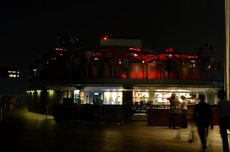 Sky Deck Bar, 57th floor, MBS, Singapore