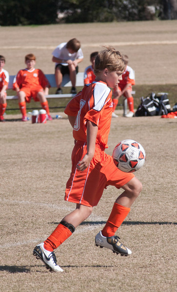 Dustin Playing Soccer  2011 ABOB