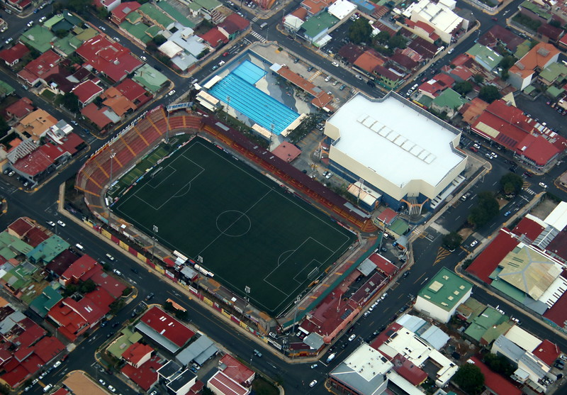 Estadio Futbol de Heredia y Palacio de los Deportes
