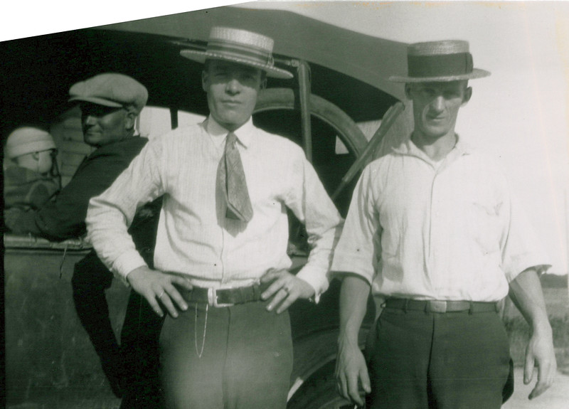 1920s Tony and Don in back, Boadways in front.jpeg